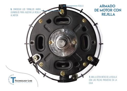 ventilador industrial 30p metal rígido resistente silencioso