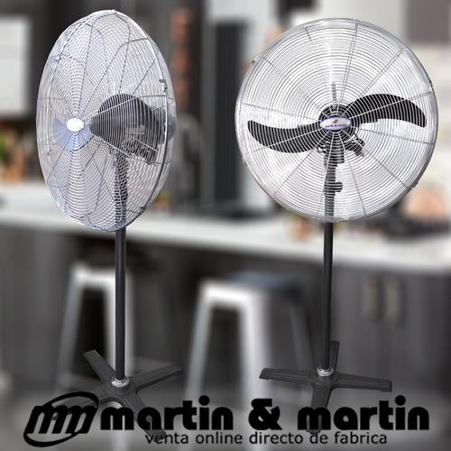 ventilador industrial pie 65cm motor potenciad martin&martin