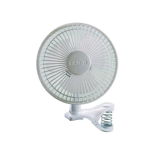 ventilador lasko 2004w 2-speed clip fan 6'' color blanco