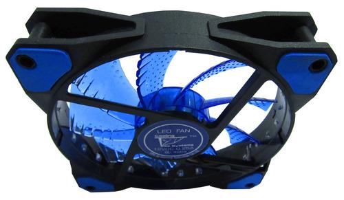 ventilador led cts blue vortex alto flujo 120mm pc gamer pwm