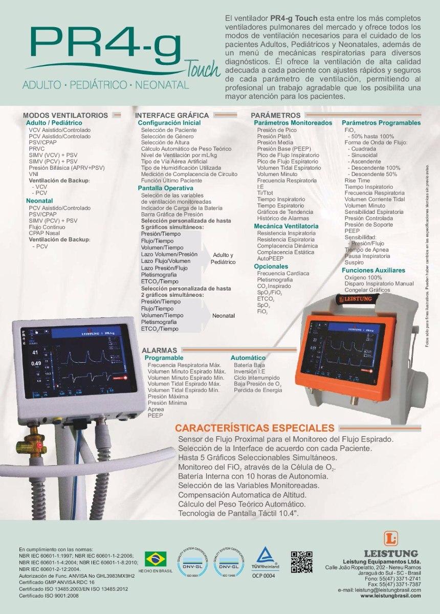 f79db8c96a7d Ventilador Mecánico De Transporte Leistung Pr4g-touch - U S 15.830 ...