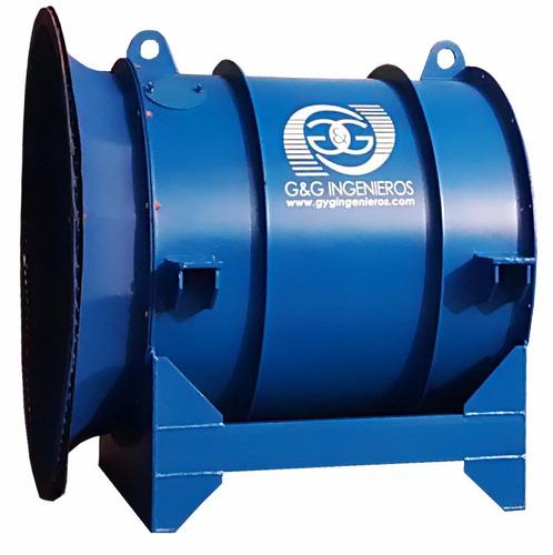 ventilador minero axial howden joy alquiler / venta g&g