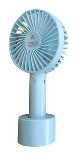 ventilador mini portatil abanico usb recargable / soy tienda