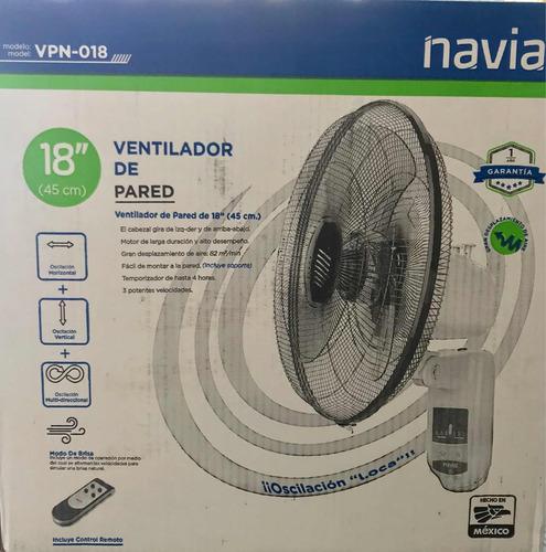 ventilador navia pared vpn018 multioscilatorio 3v control re