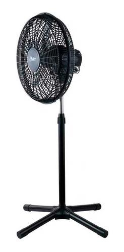 ventilador negro 45 cm 5 aspas circulador air oster + regalo