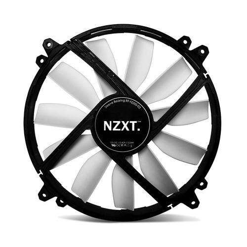 ventilador nzxt fz- 200, led rojo, 200mm