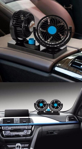 ventilador para automovil o camión 12v ó 24v