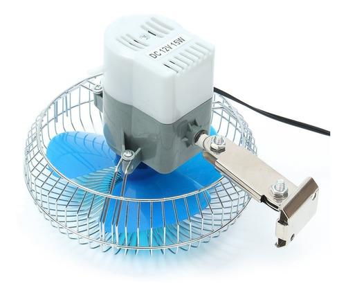 ventilador para carro, 12 voltios, 6 pulgadas