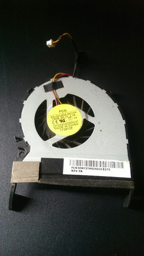 ventilador para laptop toshiba c845 , c845d, l845 etc