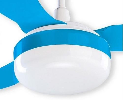 ventilador para niño/niña de techo- color azul o rosa