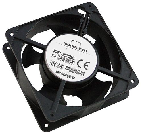 ventilador para rack genwest cable y enchufe 110v de 2mt.
