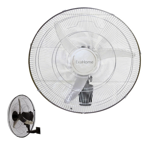 ventilador pared semi industria exahome 50cm 100w cromado