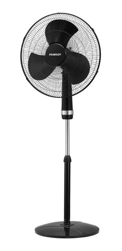 ventilador peabody de pie 20  3 velocidades altura regulable
