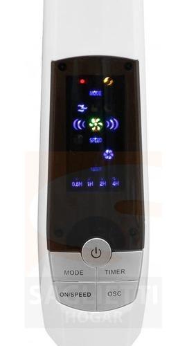 ventilador pie 18 potente! control remoto clever 100% cobre!