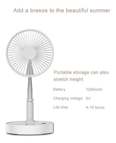ventilador portátil recargable plegable estirable paton
