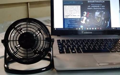 ventilador portatil usb-ac + adaptador,  laptop, pc