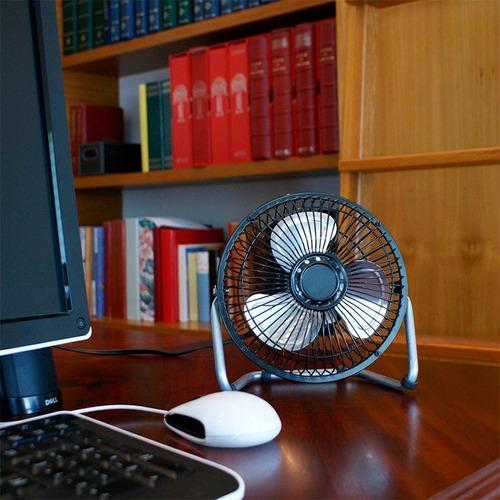 ventilador potente 6 alta velocidad escritorio oficina hogar