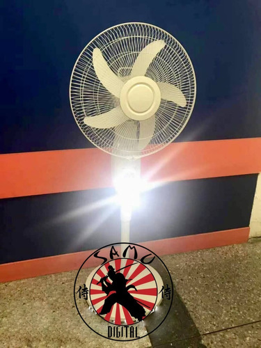 ventilador recargable de pedestal, lampara, usb nuevos!