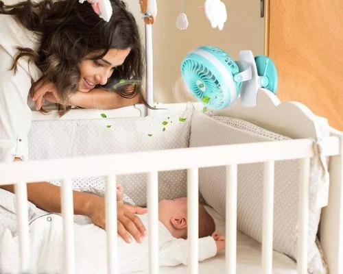 ventilador recargable usb para cochecito de bebe ,clip