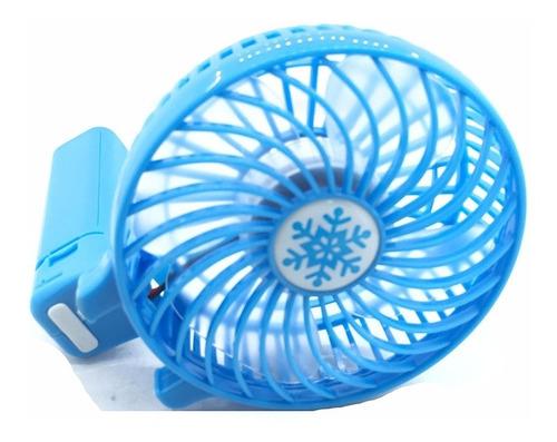 ventilador recargable usb portable o fijo pc sa