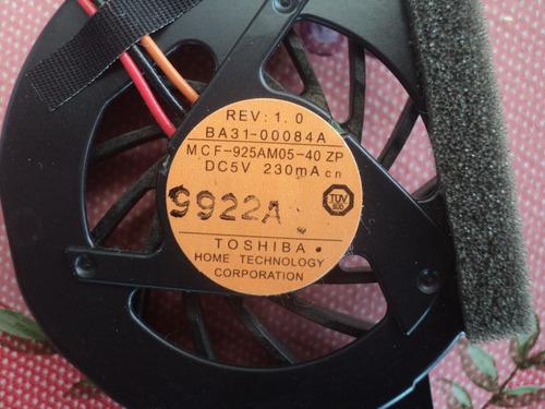 ventilador samsung n130 impecable