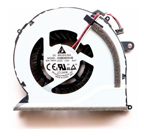 ventilador samsung np550p5c np550p7c nuevo, original, envios