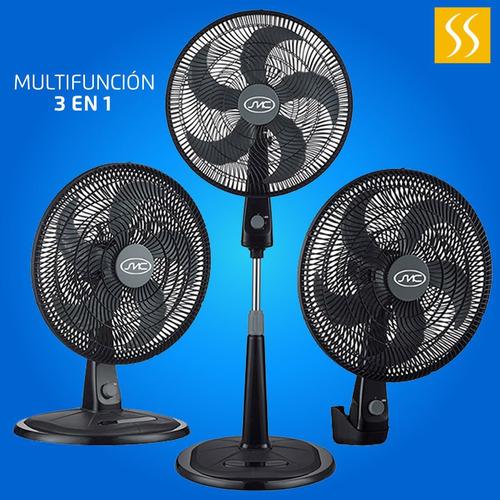 ventilador smc smcvn18pn 3 en 1 18  pulgadas 3 velocidades