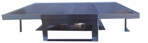 ventilador solar de techo pared bodega 250m2 alta eficiencia