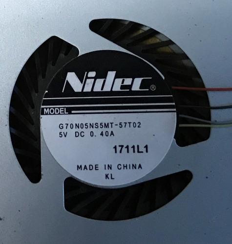 ventilador sony vaio modelo: g70n05ns5mt-57t02