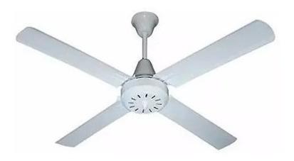 ventilador techo blanco 4 palas 5 velocidades - 18 cuotas
