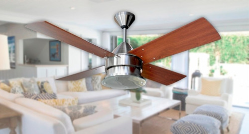 ventilador techo martin argos platil potente plafón vidrio