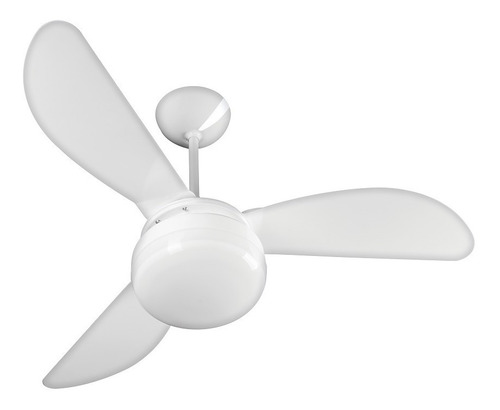 ventilador teto 3 pás branco premium fênix ventisol