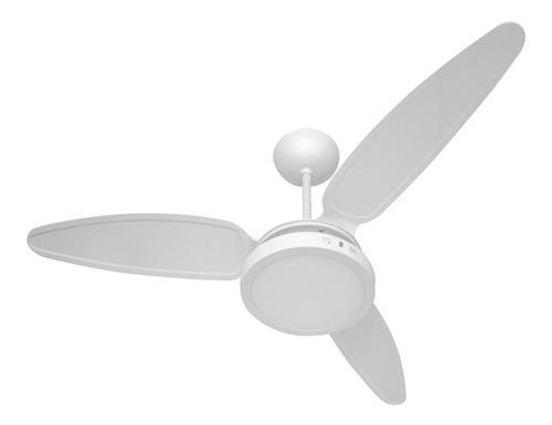 ventilador teto wind light silent plafon led 18w ponente