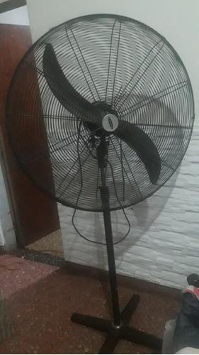 ventilador tipo comercial funcionando poco uso