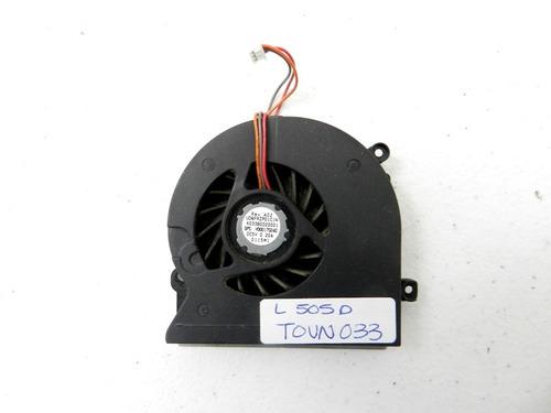 ventilador  toshiba l505 d dc5v 0.20a tovn033