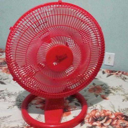 ventilador tufão 40 cm vermelho