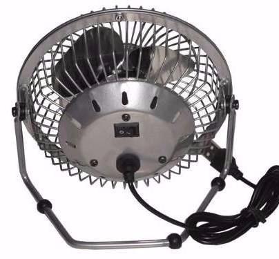 ventilador usb nisuta metalico para escritorio apto 220v