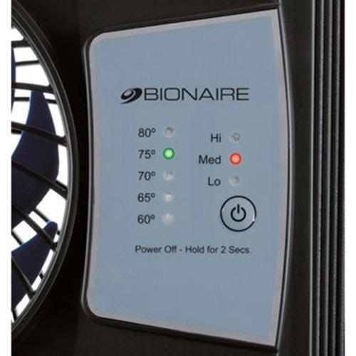 ventilador  ventana delgada control temperatura termostato