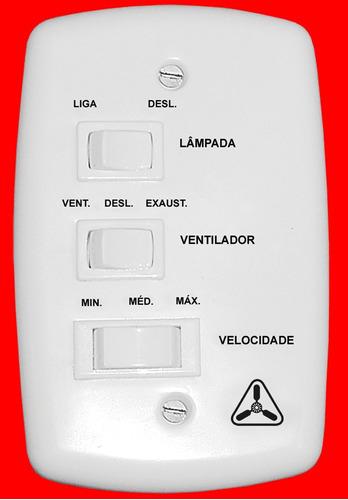 ventilador ventidelta new zeta 3 pás brancas bco/dourado