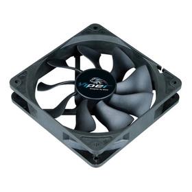 Ventilador Viper Black  12cm Alto Desempenho Ak-fn065  Akasa