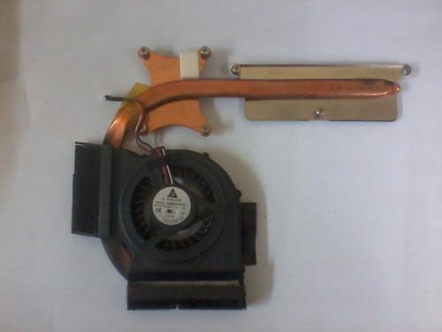 ventilador y disipador samsung rv-410 en desarme