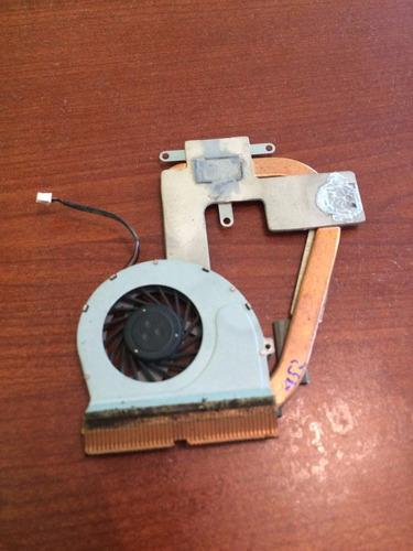 ventilador y disipador toshiba satelite t135d5p2012m
