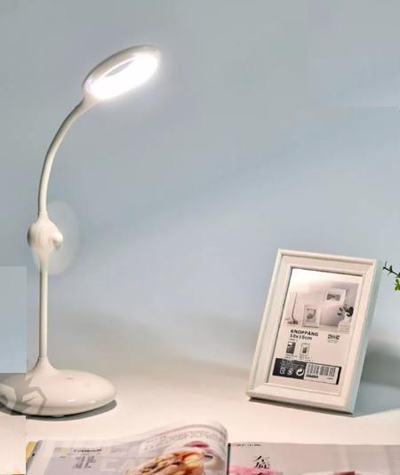 Lampara Ventilador Oficina Led Tactil Y Para Itelsistem WH9D2IYE