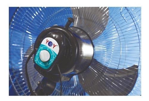 ventilador yoy 3 en 1 pedestal aspa metalica 18 pulgadas