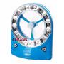Ventilador Recargable Portatil Nuevo Con Linterna 30 Led