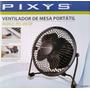 Mini Ventilador De Mesa Portatil De 4 Pulgadas Pixys Vm10p