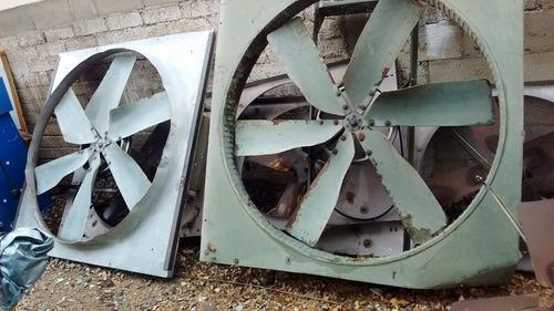 ventiladores de 24  y 50  de diametro