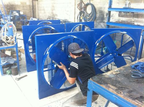 ventiladores extractores industriales desde 6   hasta 36