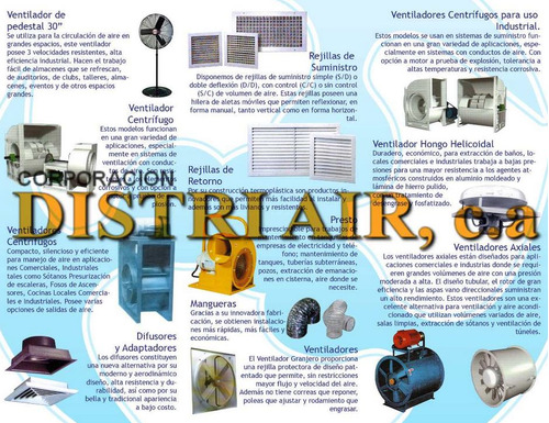 ventiladores/extractores helicoidales,tuboaxial,industriales