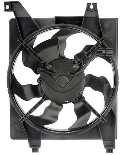 ventildor de condensador hyundai accent sedan 2006 - 2011